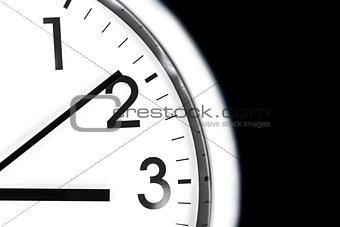 Clock face detail