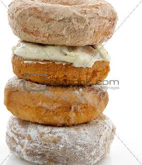 Powdered Sugar Crusty Donuts