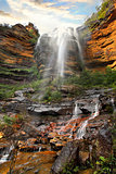Waterfall, Lower Wentworth Falls, Blue Mountains Australia