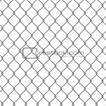 Tiling texture of barbed wire fence.