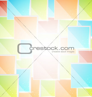 Abstract creative background with copy space