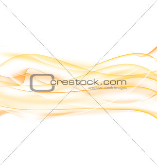 Abstract orange background, wavy design
