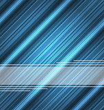 Techno abstract blue background, striped texture