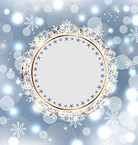 Christmas holiday background with greeting card