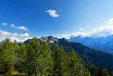 Julian Alps and Cima Cacciatori, Friuli Italy