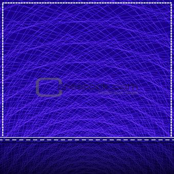 Abstract Purple Invitation Card