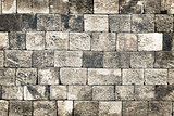 Vintage old style stone wall grunge background