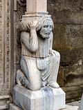 Column from Basilica Santa Maria Maggiore in Bergamo, Italy.