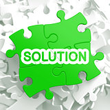 Solution.  Puzzle Business Concept.