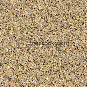 Country Road with Small Stones Seamless Texture.