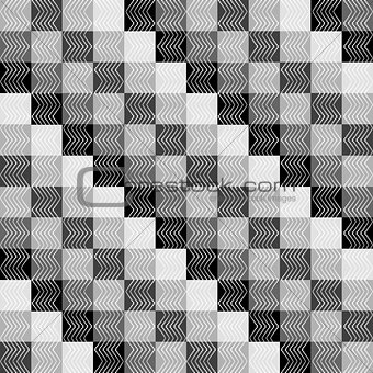 Backgroud pattern with grey squares