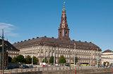 Kopenhagen Slotsholmen Danish Parliament Christiansborg