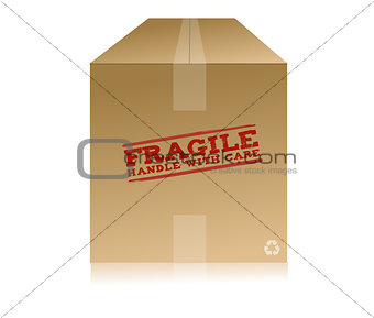 fragile handle with care box