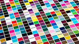 Abstract background of colored square