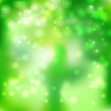 green white glow background