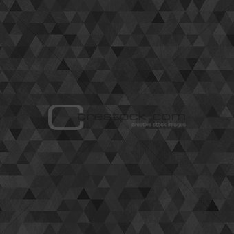 Black grunge triangles abstract background