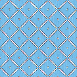 blue pattern of net