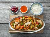 Chicken chp suey