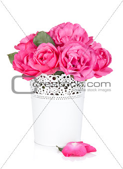 Bouquet of rose flowers