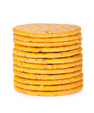 Stack of crackers