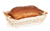 Brown bread in basket