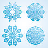 Abstract Snowflakes