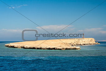 Small Island on Red Sea