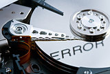 error on hard disk