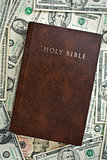 holy bible on us dollars