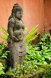 stone statue in bali indonesia