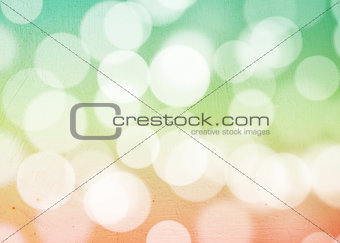 Grunge bokeh background