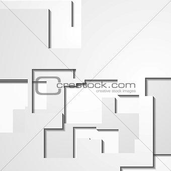 Modern light geometrical vector design