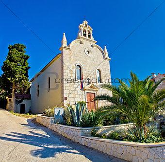 Town of Tribunj stone church
