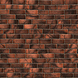 Brown Brick Wall. Seamless Tileable Texture.