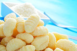 gnocchi and parmesan cheese