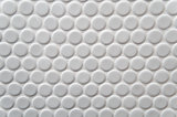 White circle tile pattern