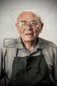 Old Shoemaker Portrait