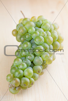 Green grape cluster