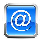 at sign, e-mail button