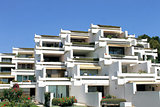 Holiday apartment buildings