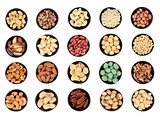Large Nut Selection