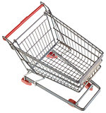 Empty Shopping Trolley Cutout