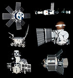 Space Ships Probes Cutout