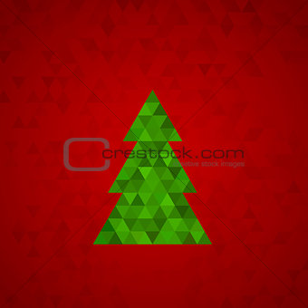 abstract geometric background for the new year
