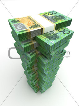 Tower of Australian Dollar