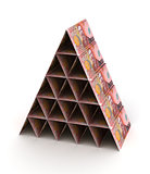 New Zealand Dollar Pyramid