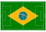 Brazil football field