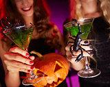 Halloween toast