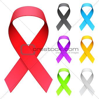 Aids ribbon.