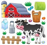 Cow theme collection 1